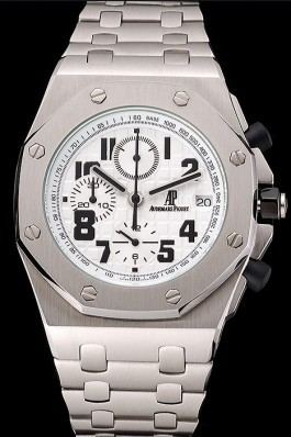 Audemars Piguet Royal Oak Offshore White Dial Stainless Steel Case And Bracelet Audemars Piguet Royal Oak Replica Aaa