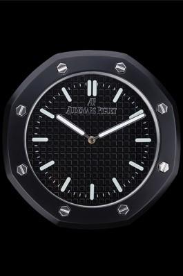 Audemars Piguet Royal Oak Wall Clock Black 622462 Piguet Replica