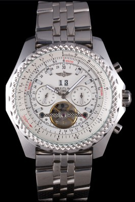 Stainless Steel Band Top Quality Breitling Steel Kinetic Luxury Watch 4153 Fake Breitling Bentley