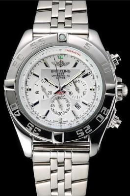 Breitling Chronomat White Dial Stainless Steel Case And Bracelet 622223 Breitling Chronomat