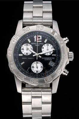 Breitling Colt Chronograph II Black Dial Stainless Steel Bracelet 622427 Breitling Chronomat