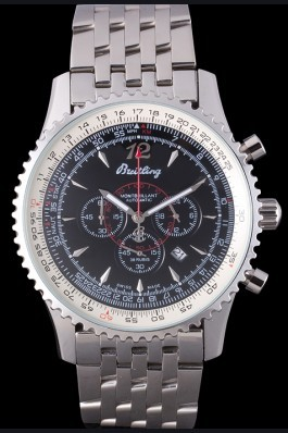 Stainless Steel Band Top Quality Breitling Stainless Steel Link Luxury Watch 4157 Replica Designer Watches