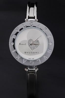 Stainless Steel Band Top Quality Circular Steel Luxury Bvlgari Watch 4319 Bvlgari Replica Watch
