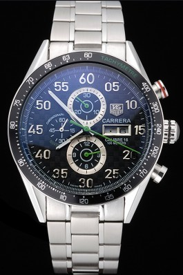 Carrera Luxury Top Quality Tag watch with ion-plated bezel 5417 Tag Heuer Replica