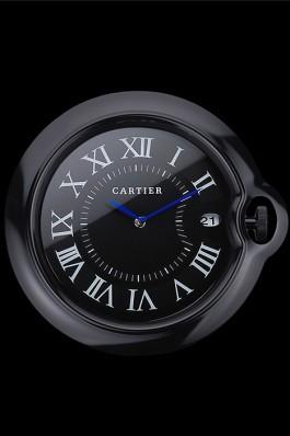 Cartier Bleu de Ballon Wall Clock Black 622466 Luxury Watch Replica