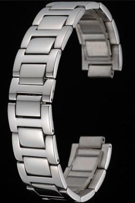 Cartier Brushed Stainless Steel Link Bracelet 622605 Cartier Replica