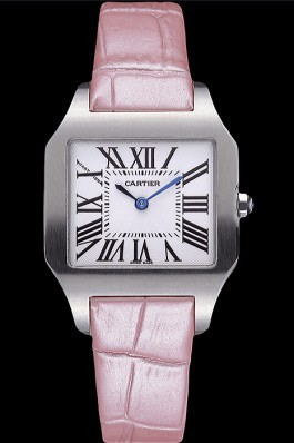 Cartier Santos 100 Polished Stainless Steel Bezel 621922 Cartier Replica