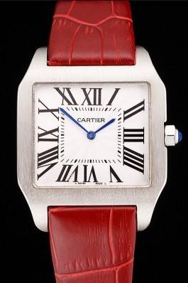 Cartier Santos 100 Polished Stainless Steel Bezel 621935 Cartier Replica