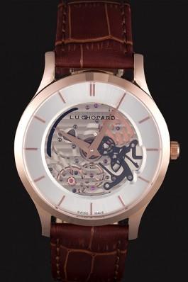 Chopard Skeletek Rose Gold Watch cp90 621369 Chopard Replica