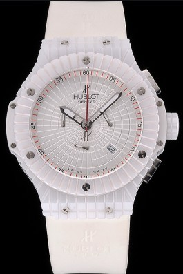 Hublot Big Bang Caviar White Dial Replica Watch Hublot
