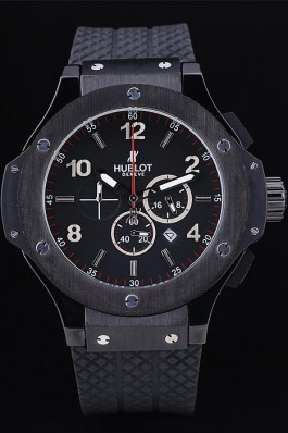 Hublot Big Bang King Black Strap Black Dial Watch Replica Watch Hublot