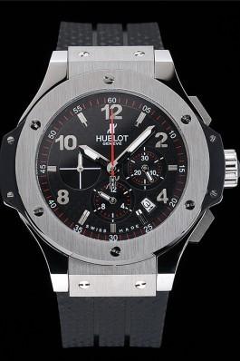 Hublot Big Bang King Black Strap Black Dial Watch Replica Watch Hublot