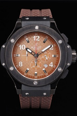Hublot Big Bang King Cappuccino Black Dial Watch Replica Watch Hublot