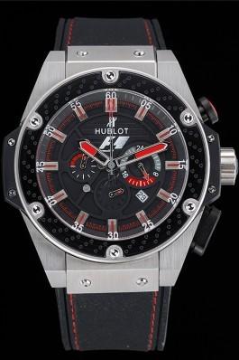 Hublot Big Bang King Power Formula 1 Stainless Steel Case Black Dial 622248 Replica Watch Hublot