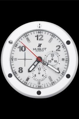 Hublot Big Bang King Power Wall Clock White 622469 Replica Watch Hublot
