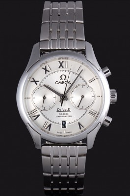 Omega DeVille Stainless Steel Links White Dial 621561 Omega Replica Watch