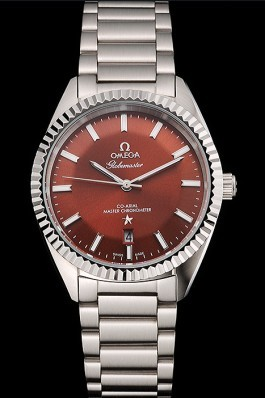 Omega Globemaster Brown Dial Stainless Steel Case And Bracelet Best Omega Replica