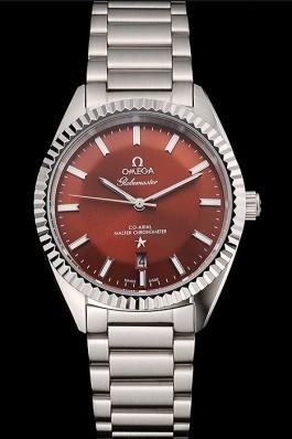 Omega Globemaster Brown Dial Stainless Steel Case And Bracelet Best Omega Replica