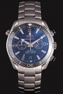 Omega James Bond Skyfall Chronometer Watch with Black Dial and Black Bezel om223 621377 Omega Replica Seamaster