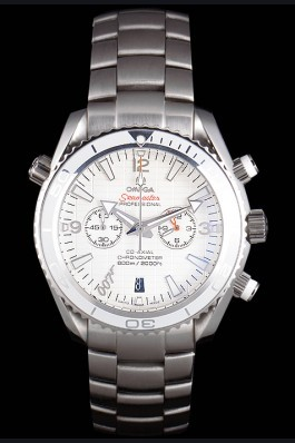 Omega James Bond Skyfall Chronometer Watch with White Dial and White Bezel om228 621380 Omega Replica Seamaster