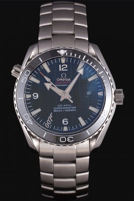 Omega James Bond Skyfall Watch with Black Dial and Black Bezel om229 621381 Omega Replica Seamaster