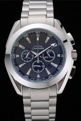 Omega Seamaster Aqua Terra Chronograph Teak-Grey Dial Stainless Steel Bracelet 622527 Omega Replica Seamaster