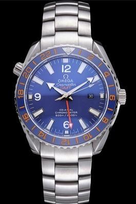 Omega Seamaster Blue Dial Stainless Steel Bracelet 622038 Omega Replica Seamaster