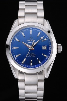 Omega Seamaster Blue Dial Stainless Steel Band 622166 Omega Replica Seamaster