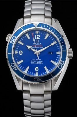 Omega Seamaster Planet Ocean Blue Dial Stainless Steel Bracelet 622537 Omega Replica Seamaster