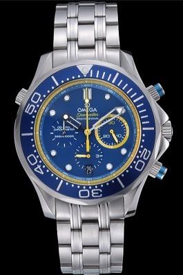 Omega Seamaster Professional Emirates Team 2013 Blue 622056 Omega Replica Seamaster