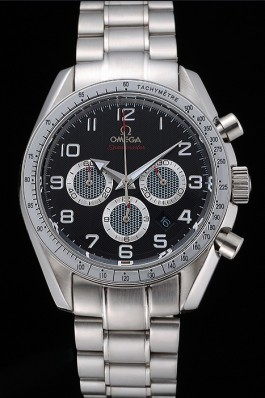 Omega Speedmaster Limited Edition 1957 Black Dial Stainless Steel Bracelet 622523 Omega Speedmaster Replica