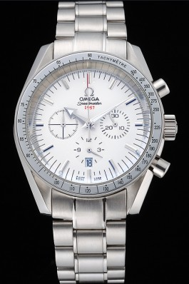 Omega Speedmaster Limited Edition 1957 White Dial Stainless Steel Bracelet 622522 Omega Speedmaster Replica