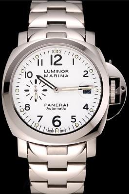 Stainless Steel Band Top Quality Men's Panerai Luminor Marina Luxury Watch 4802 Panerai Luminor Replica