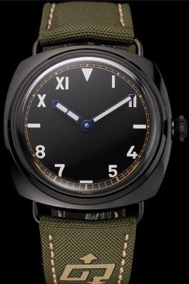 Panerai Radiomir California 3 Days Black Dial Green Bracelet 1454018 Panerai Replica Watch