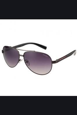 Replica Prada Linea Rossa Black Frame Grey Lenses Sunglasses 308153