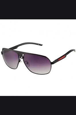 Replica Prada Sporty Embellished Black Frame Linea Rossa Logo Sunglasses 308300