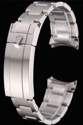 Rolex Brushed Stainless Steel Link Bracelet 622494 Replica Rolex Bracelet
