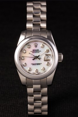 Stainless Steel Band Top Quality Rolex Silver Luxury Watch 123 5071 Replica Rolex Datejust