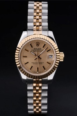 Stainless Steel Band Top Quality Gold Datejust Luxury Watch 129 5073 Replica Rolex Datejust