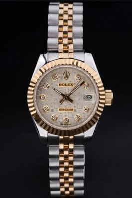 Stainless Steel Band Top Quality Rolex Gold Luxury Watch 130 5075 Replica Rolex Datejust