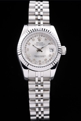 Stainless Steel Band Top Quality Rolex Silver Luxury Watch 131 5076 Replica Rolex Datejust