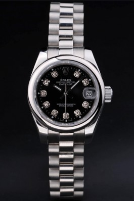 Stainless Steel Band Top Quality Silver Datejust Luxury Watch 133 5077 Replica Rolex Datejust