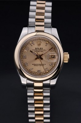 Stainless Steel Band Top Quality Rolex Two Toned Luxury Watch 144 5084 Replica Rolex Datejust