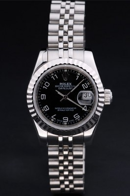 Stainless Steel Band Top Quality Rolex Luxury Silver Watch 145 5085 Replica Rolex Datejust
