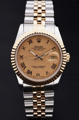Stainless Steel Band Top Quality Rolex Gold Luxury Watch 175 5105 Replica Rolex Datejust