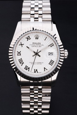 Stainless Steel Band Top Quality Rolex Silver Luxury Watch 5106 Replica Rolex Datejust