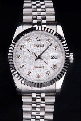 Stainless Steel Band Top Quality Rolex Datejust Luxury Watch 18 5107 Replica Rolex Datejust