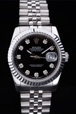 Stainless Steel Band Top Quality Rolex Silver Luxury Watch 19 5114 Replica Rolex Datejust