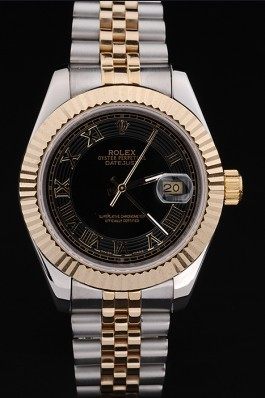 Gold Stainless Steel Band Top Quality Gold Datejust Luxury Watch 211 5130 Replica Rolex Datejust