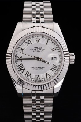 Stainless Steel Band Top Quality Silver Datejust Luxury Watch 212 5131 Replica Rolex Datejust